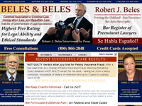 ROBERT BELES website screenshot