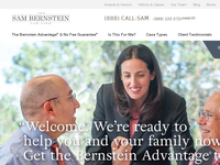 SAMUEL BERNSTEIN website screenshot