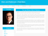 FRED BIEN website screenshot