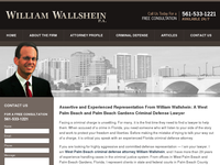 WILLIAM WALLSHEIN website screenshot