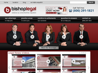 JENNIFER BISHOP website screenshot