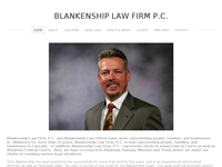CHRIS BLANKENSHIP website screenshot