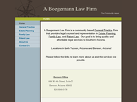 LES BOEGEMANN website screenshot