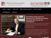 PIETER BOGAARDS website screenshot
