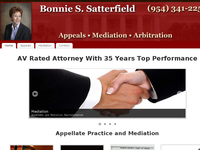 BONNIE SATTERFIELD website screenshot