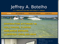 JEFFREY BOTELHO website screenshot