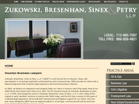 MAURICE BRESENHAN JR website screenshot