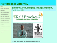 RALF BROOKES website screenshot