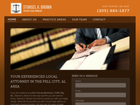 STANSEL BROWN III website screenshot