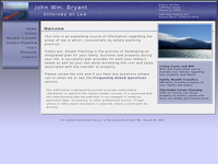 JOHN BRYANT website screenshot