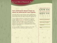 SHANNON BURNETT website screenshot