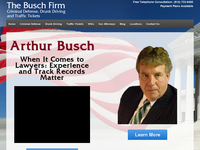 ARTHUR BUSCH website screenshot