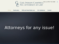 GAIL CAMPBELL INMAN website screenshot