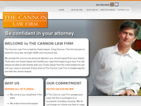 CRAIG CANNON website screenshot