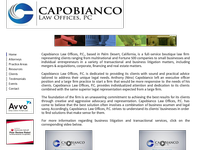 ANTHONEY CAPOBIANCO website screenshot