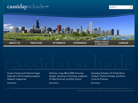 CASSIDAY SCHADE website screenshot