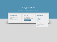 CATHERINE FAUGHNAN website screenshot