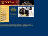 RAMON CERVANTES website screenshot