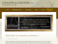 ALLAN CHASON website screenshot