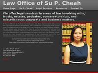 SU CHEAH website screenshot