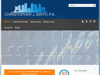 CHRISTOPHER SMITH website screenshot