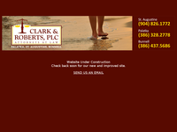 RONALD CLARK website screenshot