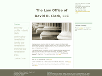 DAVID CLARK website screenshot
