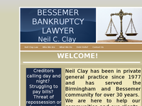 NEIL CLAY website screenshot