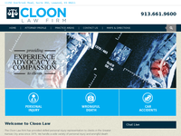 BRYSON CLOON website screenshot