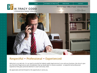 W TRACY CODD website screenshot