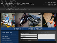 JOHN COMPTON website screenshot