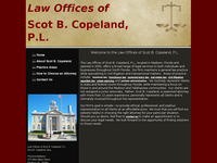 SCOT COPELAND website screenshot