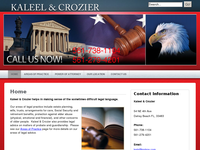 CAROL CROZIER website screenshot