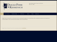 HOWARD DAIGLE website screenshot