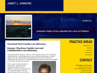 JANET DAMORE website screenshot