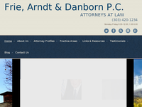 PAUL DANBORN website screenshot