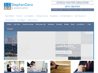 STEPHEN DANZ website screenshot