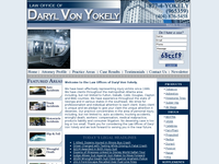 DARYL VON YOKELY website screenshot