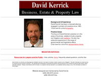 DAVID KERRICK website screenshot