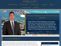 ROBERT DEES website screenshot