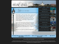 ALTON HALL JR website screenshot