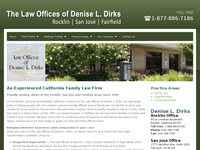 DENISE DIRKS website screenshot