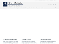RONALD TRUMAN website screenshot