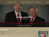 WILLIAM DODD website screenshot