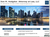 DON HODGDON website screenshot