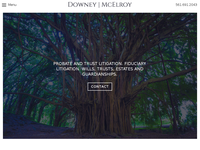 EDWARD DOWNEY website screenshot