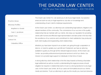 STEPHEN DRAZIN website screenshot