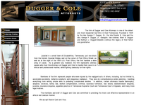 MARK DUGGER website screenshot