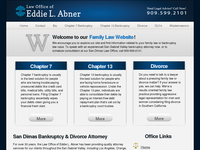 ED ABNER website screenshot