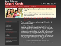 EDGARD GARCIA website screenshot